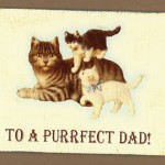 Father's Day Cards: Handmade by Pet Scribbles
