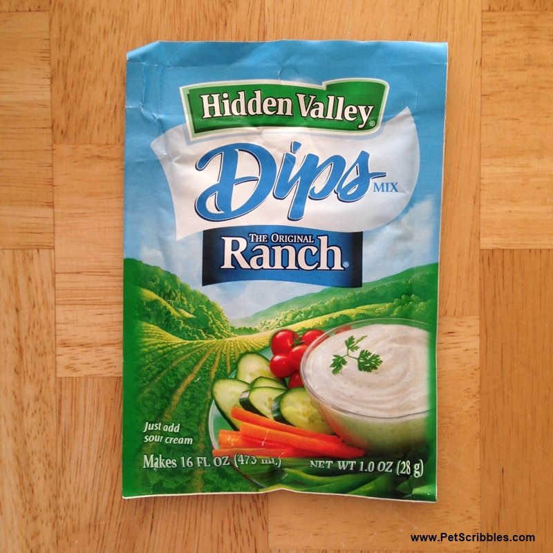 Hidden Valley Ranch Dip Hidden Valley Ranch Dip Packet