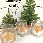 Holiday Star Luminary Craft