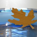 How to make Faux Wood Leaves for Fall