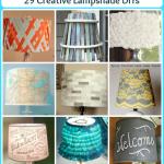 29 Creative Lampshade DIYs