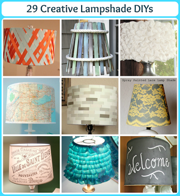 29 creative lampshade diys pet scribbles mozeypictures Choice Image