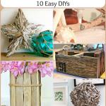 Driftwood Decor: 10 Easy DIYs