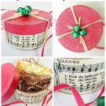 Holiday Gift Box DIY: an easy decoupage craft!