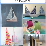 Sailboat Decor: 10 Easy DIYs