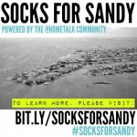 Socks for Sandy Video, from our Google+ hangout