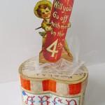 July 4th DIY: Make a Vintage Heart Box