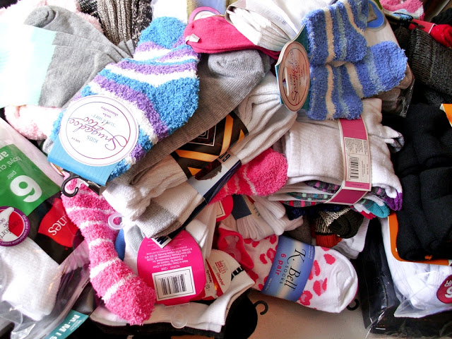 donations of socks