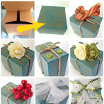 Decorate a gift box: 8 easy ideas!