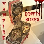 Halloween Craft DIY: Vampire Coffin Boxes