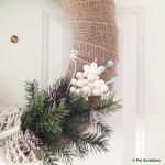 DIY Coastal Winter Wreath