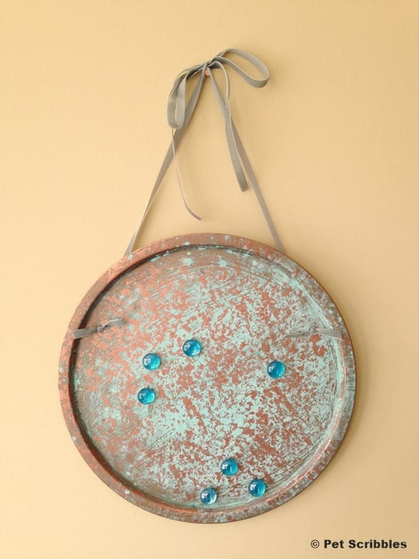 Copper Patina Magnet Board