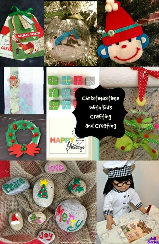 Crafting with Kids for Christmas