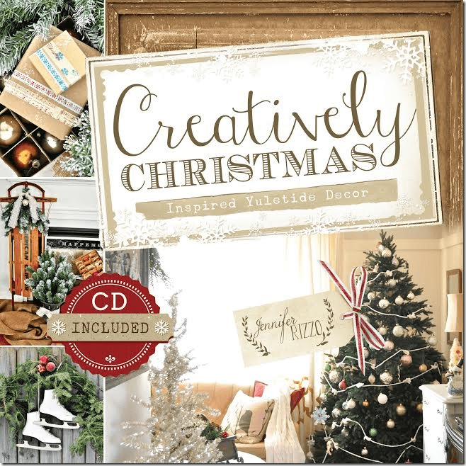 Creatively Christmas book cover by Jennifer Rizzo