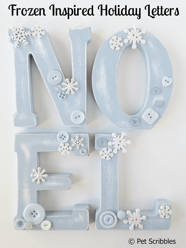 Frozen Inspired Holiday Letters
