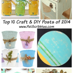 Top Ten Craft and DIY Posts for 2014 by Pet Scribbles