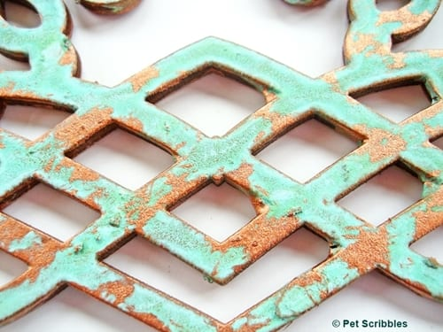 copper patina DIY