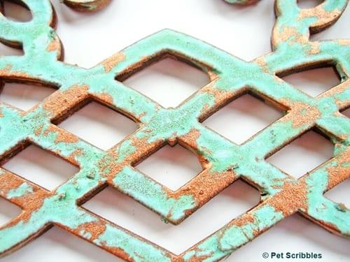 copper patina DIY