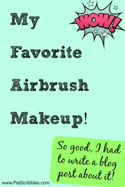 My new favorite airbrush makeup is Pur Minerals Liquid Veil 4-in-1 Spray Foundation. It's so good, that I had to write a blog post about it!