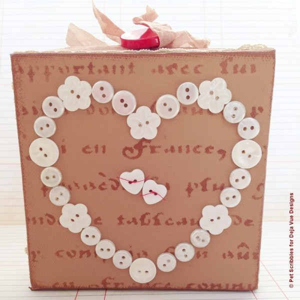 Valentine Heart Canvas