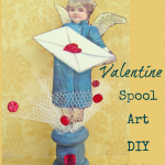 Spool Art for Valentine's Day