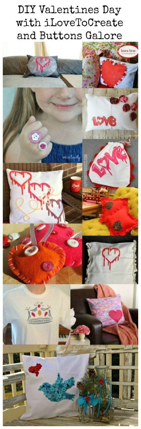 Valentine's Day Crafts plus a crafty giveaway!