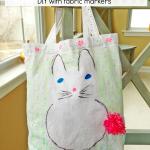 Bunny Tote Bag DIY