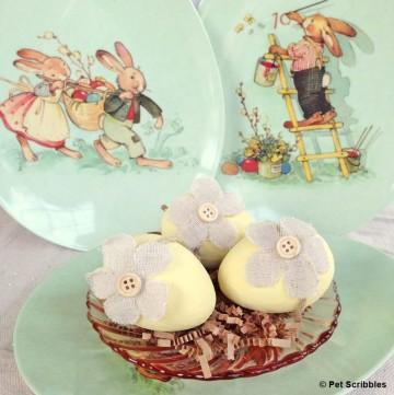 Chalk Paint Easter Eggs
