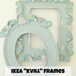 IKEA KVILL Frames: from plastic to painted wood