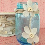 Spring Mason Jar Decor in 5 minutes!