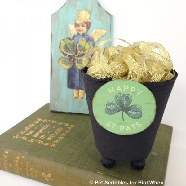 St. Patrick's Day Pot of Gold DIY