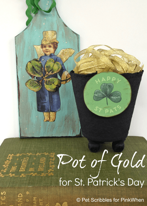 St. Patrick's Day Pot of Gold DIY