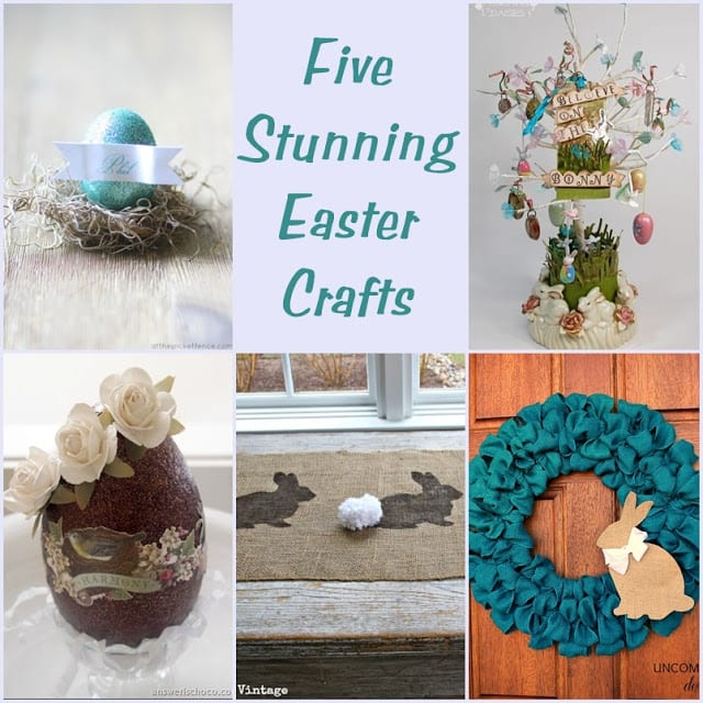 Here are five stunning Easter crafts that you can make too!