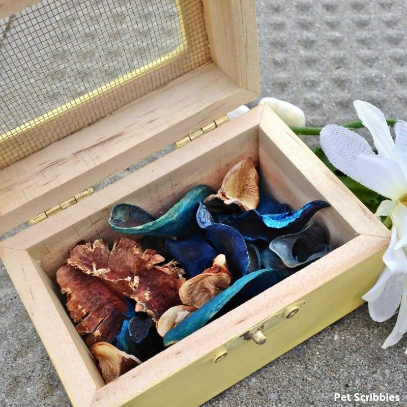 Diy Wedding Wood Box Wedding Favor Pet Scribbles