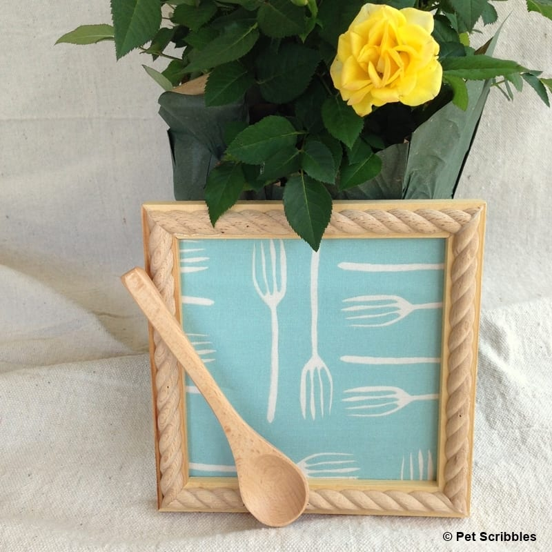 Fork It Over Fabric Kitchen Art