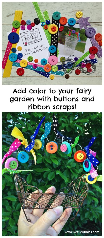Adding Color to a Fairy Garden