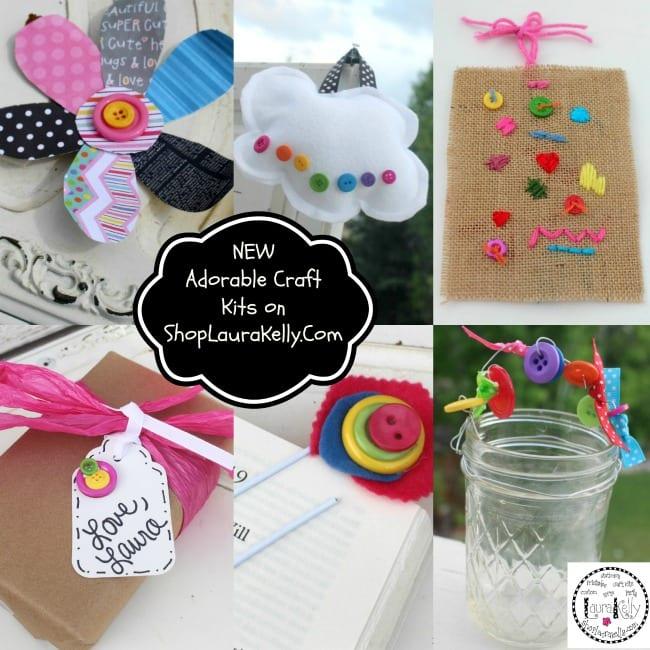 ShopLauraKelly.com Craft Kits