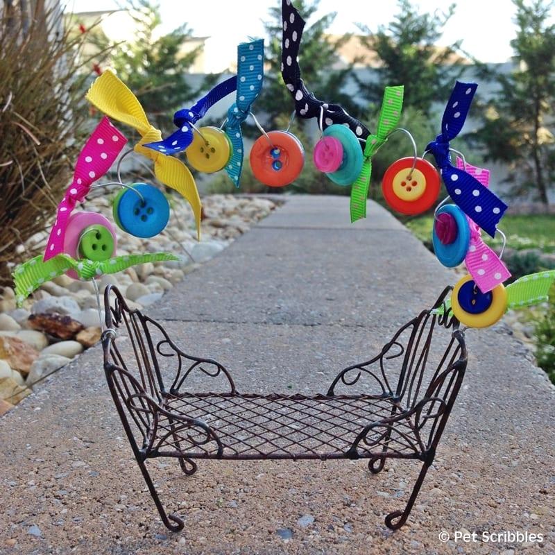 Festive Fairy Garden Bench DIY