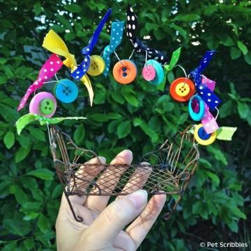 Festive Fairy Garden Chair