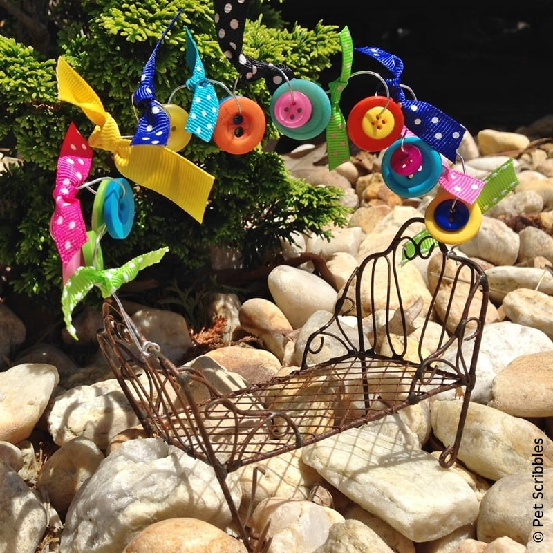 Festive Fairy Garden Chair craft kit
