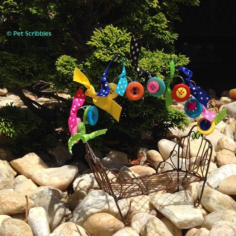 How to make a Fairy Garden Bench pretty