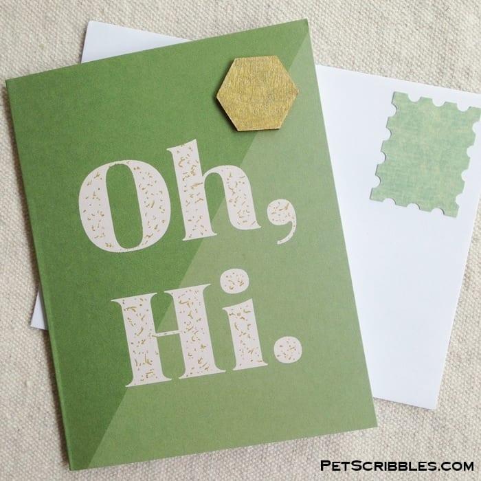 Card Making Kit from Mothership Scrapbook Gal