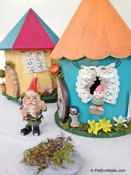 DIY Curtains for Fairy Garden Home