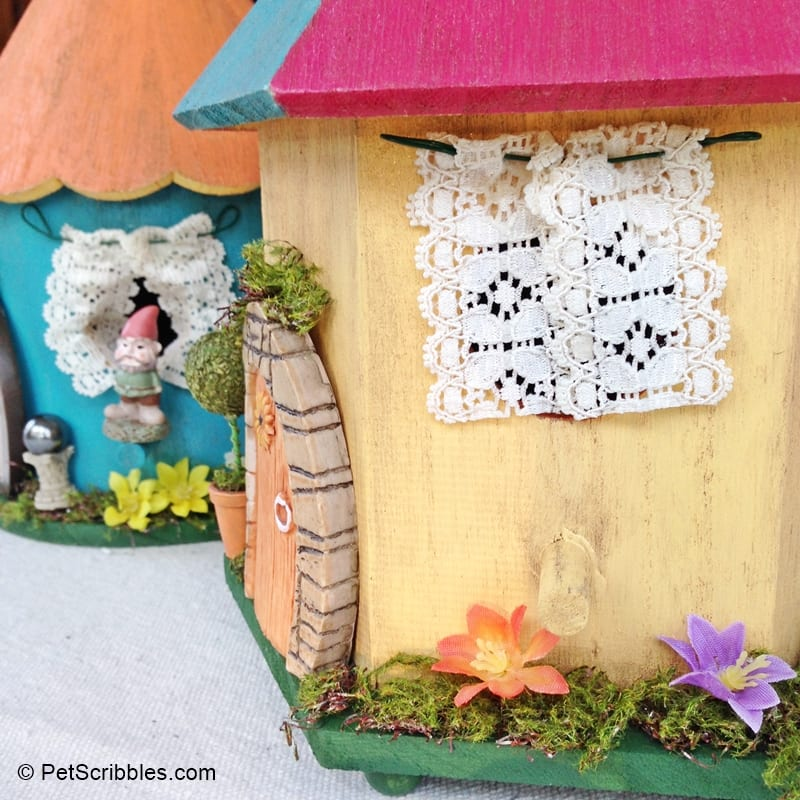 DIY Miniature Curtains Fairy Homes