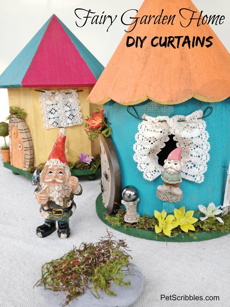 Fairy Garden Home Curtains DIY