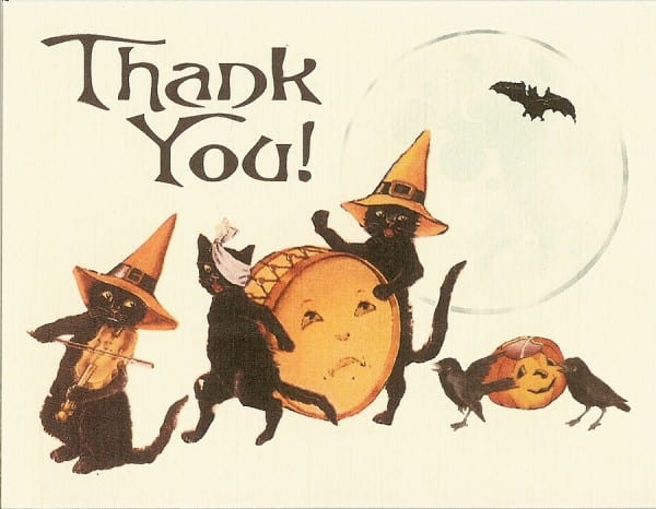 Jen_Halloween Wedding ThankYou cards