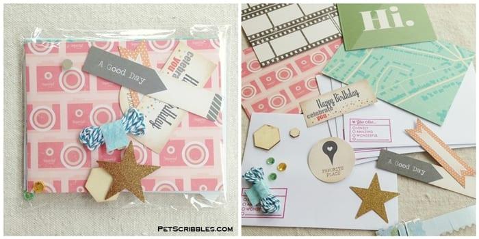 Mothership Scrapbook Gal Card Kits