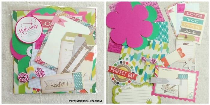 Mothership Scrapbook Gal Kits