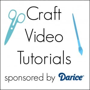 Craft Video Tutorials sponsored by Darice