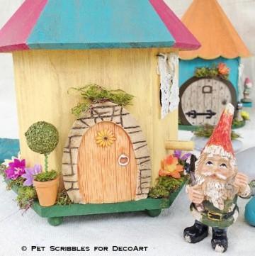 Birdhouse Fairy Garden Home DIY